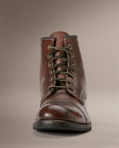 Logan Cap Toe - View All Men's Boots - Western Boots, Harness Boots, & More - The Frye Company