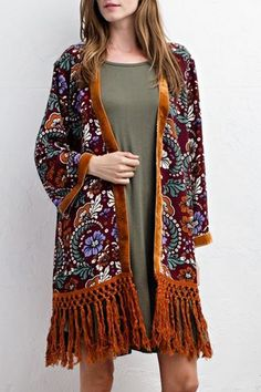 fbb50245493 71 Best Houston Inspired Trend: Fringe images | Bangs, Fringe coats ...