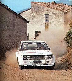 Fiat 131 Rhörl Geistdorfer S Remo 1980