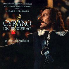 Gerard Depardieu is Cyrano - movie director Rappeneau Beau Film, Great Love Stories, Love Story, Jean Paul Rappeneau, Writing Characters, Fictional Characters, Book Authors, Books, Film Movie