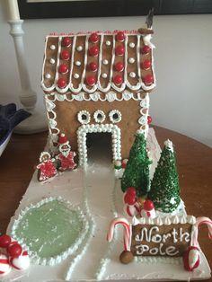 Katsie's gingerbread house