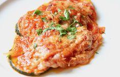 Milanesa, Mozzarella, Spanish Food, Spanish Recipes, Salmon Burgers, Risotto, A Food, Meat, Chicken