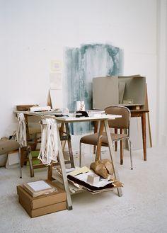 Stéphanie Solinas studio by Cyrille Weiner