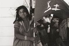 "Graciela Iturbide  ""Mujer viento,"" ( Woman Wind), Panamá, 1974 - gelatin silver print"