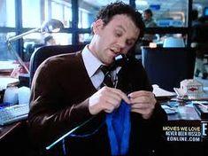 John C Reilly knitting in 'Never Been Kissed'.