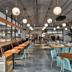 """US studio AvroKo has completed a coffee bar in tech company Dropbox's new San Francisco offices, creating """"place of comfort"""" to keep employees in the office"""