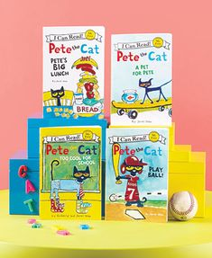 Watch your child discover the joy of reading with this I Can Read! 4-Book Set. These books help young readers improve with simple sentences and new words. The engaging stories feature cute illustrations to engage and entertain your child. First-level Pet