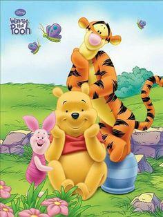 Trendy Quotes Winnie The Pooh Life Friends 20 Ideas Winne The Pooh, Cute Winnie The Pooh, Winnie The Pooh Quotes, Winnie The Pooh Pictures, Butterfly Kit, Stitch Cartoon, Bear Cartoon, Cute Disney Wallpaper, Pooh Bear