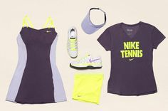 Nike Tennis for French Open (Roland Garros) 2013 - EU Kicks: Sneaker Magazine Wta Tennis, Sport Tennis, Nike Tennis, Nike Design, Sassy Girl, Nike Outfits, Tennis Outfits, Tennis Fashion, Sneaker Magazine