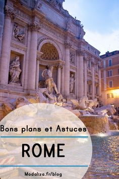 photo weekend a rome city tour voyage europe capitale europeenne roma fontaine di trevi by modaliza photographe Italy Places To Visit, Voyage Rome, Rome City, Kona Hawaii, Trevi Fountain, Travel Information, Amalfi Coast, Hawaii Travel, Countries Of The World