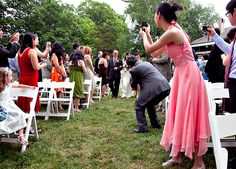 Wedding in Fredericksburg, Virginia.  Not the walk down the aisle I would envision for my bride...