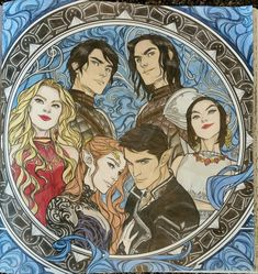The Court of Dreams. ACOTAR coloring book ~ CLPN