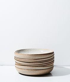Stoneware + Porcelain Pasta Bowl