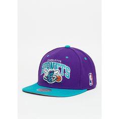Mitchell & Ness Snapback-Cap Team Arch NBA Charlotte Hornets blue/teal