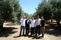 Me, George, Paul and the crew from Elea Creta olive in Crete.
