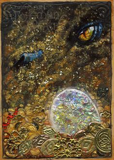 Smaug by Soni Alcorn-Hender (Bohemian Weasel) #hobbit #fanart
