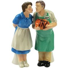 The Brady Bunch Magnetic Alice and Sam Salt and Pepper Shaker. Our assistant would love this!