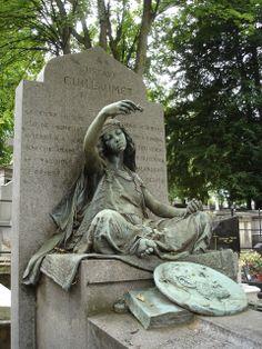 Montmartre Cemetery June 29, 2005 Paris Gypsy Girl - tribe.net