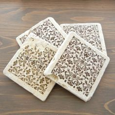 Decorative Tile Coasters Classy Four Season Coasters 4 Seasons Oak Tree Table Decor Decorative Design Decoration