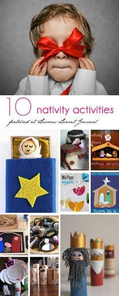Christmas Nativity Activities via Lessons Learnt Journal