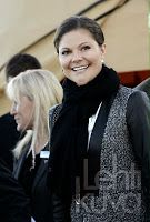 November 14, 2013  Victoria at wind power park Crown Princess Victoria visited Storbergets wind power park under construction outside Piteå.