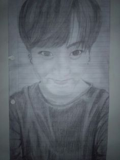 My fucking cute draw #bangtansonyeondan #bts #jungkook