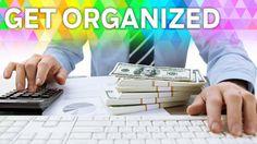 Get Organized: Tracking Cash