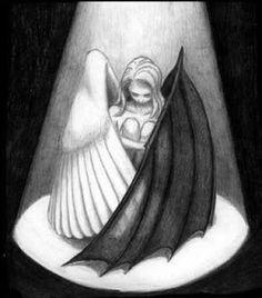 Half angel half demon