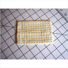 Purse / Pocket Size Tissue Cover - Yellow Check on eBid United States