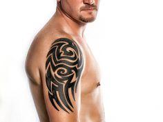 Complex Tribal Tattoo