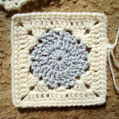"~ version 3 ~   Materials: - 4-ply ww acrylic yarn     - small amount for circle     - small amount soft white - J hook Size:  5"" Notes: -..."