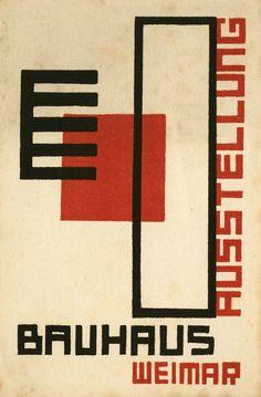 Kurt Schmidt, Bauhaus-Ausstellung Weimar, 1923.