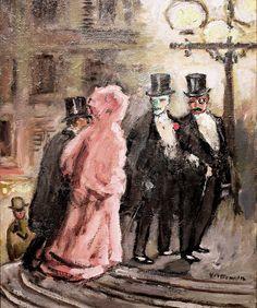 Kees van Dongen - Revelers, 1903