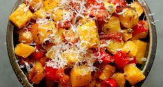 Roasted Butternut Squash & Red Peppers With Rosemary & Parmesan by Eve Fox, Garden of Eating blog, copyright 2011 by Eve Fox, via Flickr