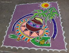 venkatnagaraj: கோலங்கள் – திருவரங்கத்தில் பொங்கல்….. Indian Rangoli Designs, Simple Rangoli Designs Images, Rangoli Designs Latest, Rangoli Border Designs, Rangoli Designs With Dots, Beautiful Rangoli Designs, Rangoli Borders, Rangoli Patterns, Rangoli Ideas