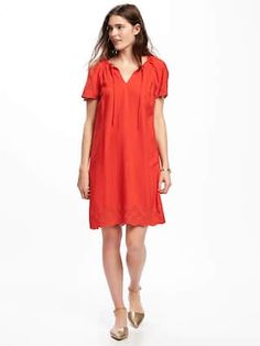 Hot tamale shift dress