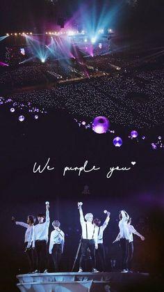 Je te violet aussi, BTS :) - BTS Forever (I'm going to clean that. Bts Taehyung, Bts Jimin, Namjoon, Bts Wallpaper Lyrics, Army Wallpaper, Iphone Wallpaper Bts, Bts Information, Foto Bts, Bts Army Logo