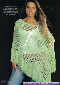 Ponchos   Mi Rincon de Crochet