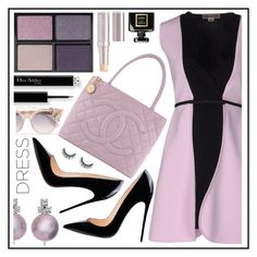 """dress"" by sandevapetq ❤ liked on Polyvore featuring Giambattista Valli, Jimmy Choo, Tom Ford, Chanel and La Mer"