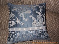 quilted pillow tuturial