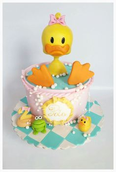 duck cake inspiration Little Cherry Cake Company