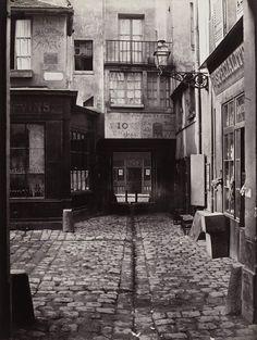 1865 - Passage St Benoit - Charles Marville