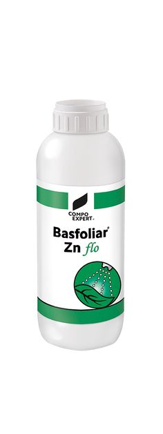 Basfoliar® Zn flo  Προϊόν θρέψης με υψηλή συγκέντρωση ψευδαργύρου 75%.  Για την πρόληψη και την αντιμετώπιση των ελλείψεων ψευδαργύρου.  Ιδανικό για διαφυλλική εφαρμογή   Συσκευασία: 12 x 1 λίτρα