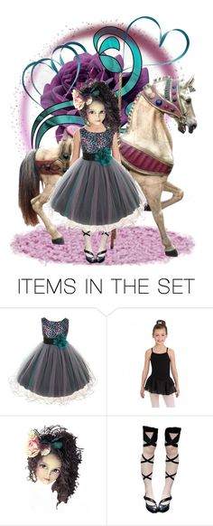 """""""Carousel Doll"""" by joyce-williams ❤ liked on Polyvore featuring art"""
