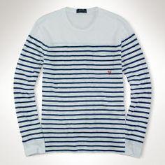 Striped Long-Sleeved T-Shirt - Polo Ralph Lauren Tees - RalphLauren.com