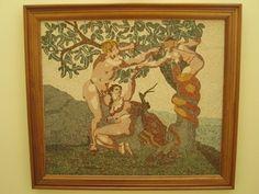 ADAM & EYA - MOSAIC εργο του Βαλαντη Σιδεριδη