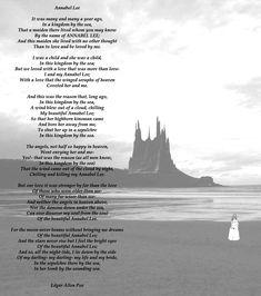 Annabel lee- Edgar Allan Poe- leido por Basil Rathbone - Taringa!