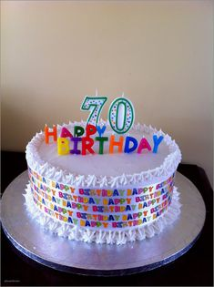 27 Wonderful Photo Of Birthday Cake Sayings Best 70th Ideas