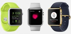 Apple Watch Event: Die Versionen der Apple Watch | (c) Apple