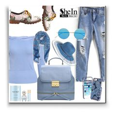 """""""SheIn 8"""" by zenabezimena ❤ liked on Polyvore featuring Illesteva, Vera Bradley, Hinge, Peach Couture, Marc Jacobs, Sheinside and topset"""